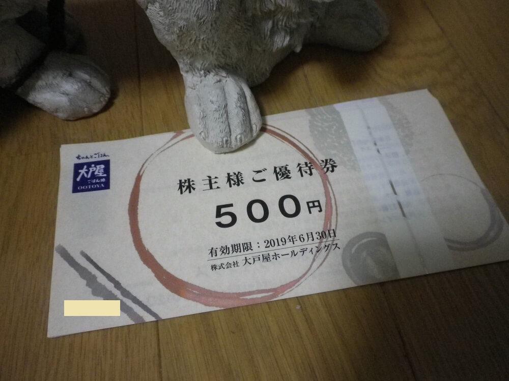 201803大戸屋HD株主優待2