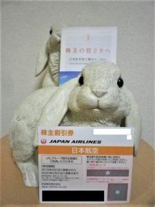 201903日本航空/JAL株主割引券
