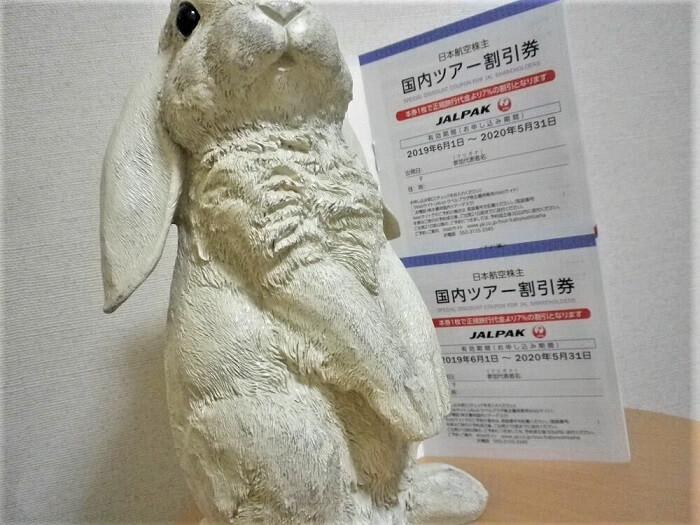 201903日本航空/JAL株主優待国内ツアー割引券
