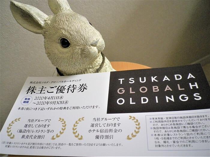 201912ツカダ・グローバルホールディング株主優待券