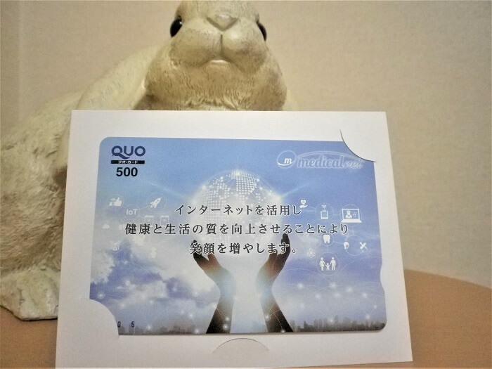 201905メディカルネット株主優待クオカード