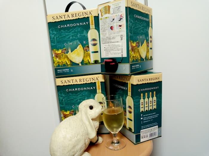 千趣会の優待で購入したベルメゾンネット チリワイン 3Lボックス4箱セット