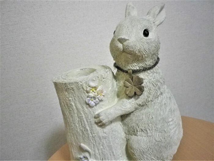 20190620Genky DrugStores株主優待カタログギフトで選んだウサギの傘立て