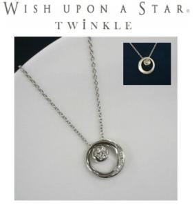 フェスタリアホールディングス2019年8月末優待:Wish upon a star Twinkle ペンダント Moon & star