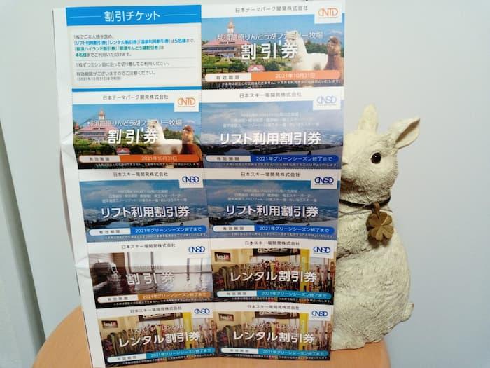 202007日本駐車場開発株主優待券2