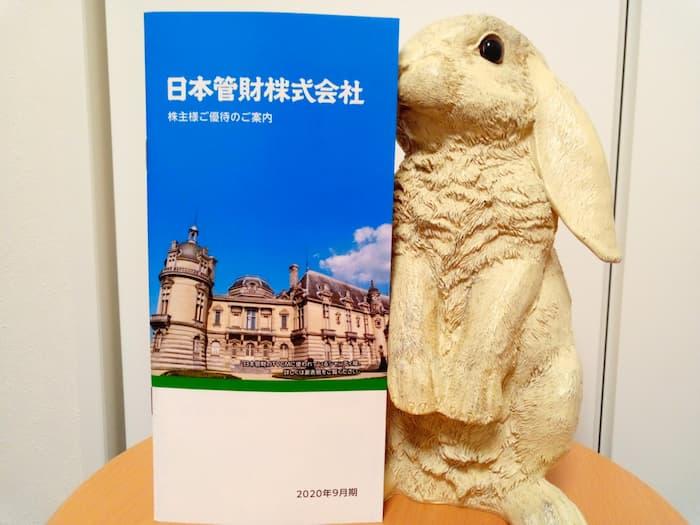 202009日本管財株主優待カタログギフト表紙