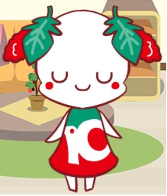 オリジナルキャラクター クワノミちゃん2
