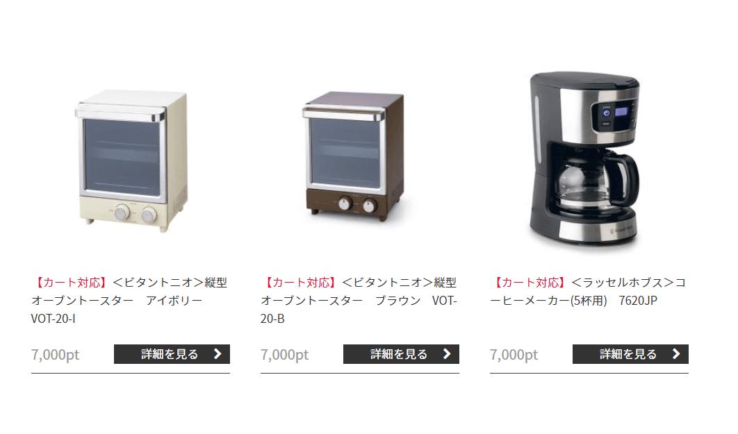 202010マネジメントソリューションズプレミアム優待倶楽部参考商品2