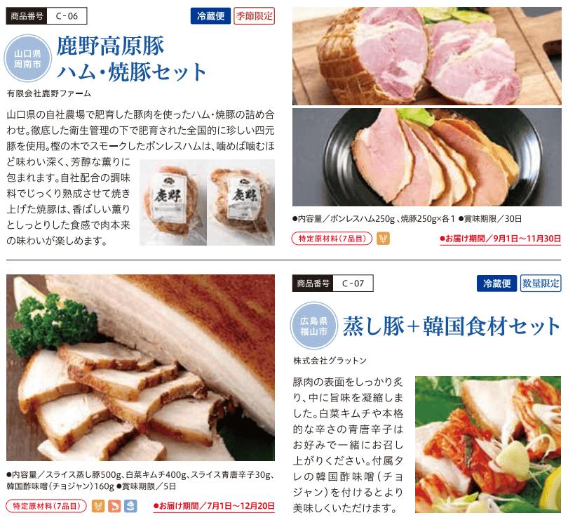 202103ひろぎんホールディングス株主優待カタログ抜粋その2